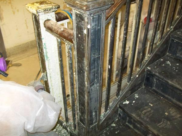 Lead remediation stairway