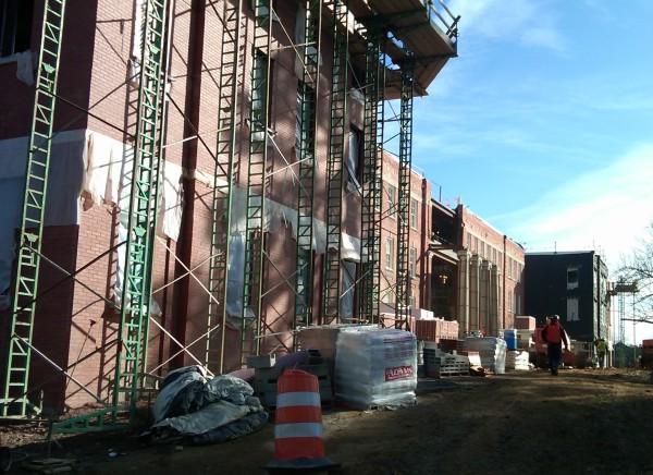 Demolition services at UNCG Shaw Hall